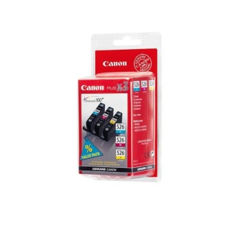 Canon CLI-526 C/M/Y Pack Canon PIXMA MG8150, MG6150, MG5250, MG5150, iP4850