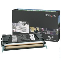 Консуматив Lexmark C520, C530 Black Return Programme Toner Cartridge (1.5K)