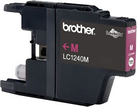 Brother LC-1240 Magenta Ink Cartridge for MFC-J6510/J6910 Brother MFC-J6510DW, MFC-J6710DW, MFC-J6910DW