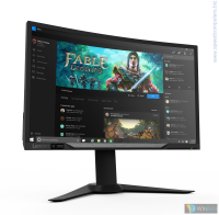 "LENOVO Y27G Curved Gaming Monitor 27"" 65BEGAC1IS FullHD извит монитор"