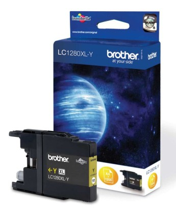 Brother LC-1280XL Yellow Ink Cartridge for MFC-J6510/J6910 Brother MFC-J6510DW, MFC-J6710DW, MFC-J6910DW