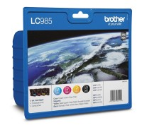 Brother LC-985 BK/C/M/Y VALUE BP Ink Cartridge Set