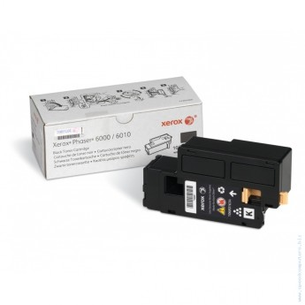 Xerox Phaser 6000/ 6010 Black print cartridge Phaser 6000, Phaser 6010, WorkCentre 6015B, WorkCentre 6015N, WorkCentre 6015NI