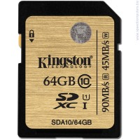 Карта памет Kingston 64GB SDHC Class10 UHS-I