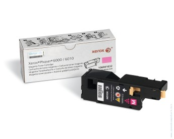 Xerox Phaser 6000/ 6010 Magenta print cartridge Phaser 6000, Phaser 6010, WorkCentre 6015B, WorkCentre 6015N, WorkCentre 6015NI