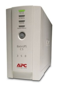 APC Back-UPS CS 350VA,USB or serial connectivity