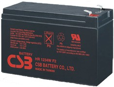 Eaton CSB - Батерия 12V 9Ah Cells Per Unit: 6Voltage: 12VCapacity: 34W @ 15 minute-rate to 1.67V per cell @ 25°C (77°F)Weight: Approx. 2.5 kg