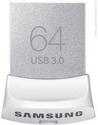 USB памет Samsung 64GB USB 3.0 Fit Бял USB памет Samsung 64GB USB 3.0 Бял
