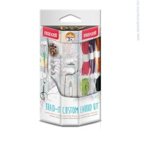 MAXELL Color DIY BRAID IT Custom Earbut kit Слушалки тапи