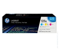 Консуматив HP 125A CYM Tri-Pack LaserJet Toner Cartridge