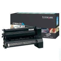 Консуматив Lexmark C780, C782 Cyan Return Programme Print Cartridge (6K)