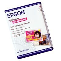 Хартия Epson Photo Quality Ink Jet Paper, DIN A6, 144g/m2, 50 Sheets
