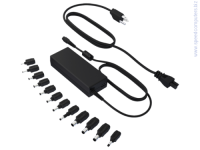 HP 90W Universal Power Adapter with USB Адаптер