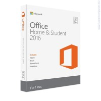 Office Home Student 2016 English за Mac OS
