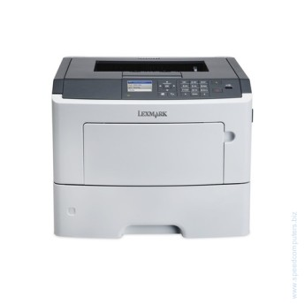 Mono Laser Printer Lexmark MS610dn - Duplex A4 LAN БЕЗПЛАТНА ДОСТАВКА ЗА ЦЯЛА БЪЛГАРИЯ