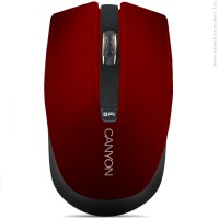 Мишка CANYON Mouse CNS-CMSW5 червен