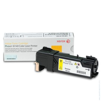 Xerox Phaser 6140 Toner Cartridge Yellow Phaser 6140