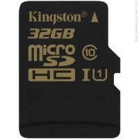 KINGSTON 32GB microSDHC Class 10 UHS-I 90MB read карта памет