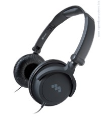 Meliconi Headphone Fold HP SMART Black Стерео слушалки