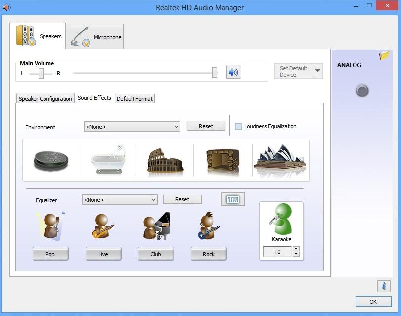 Asus X501A realtek HD audio