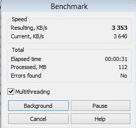 HP ProBook 450 winrar test