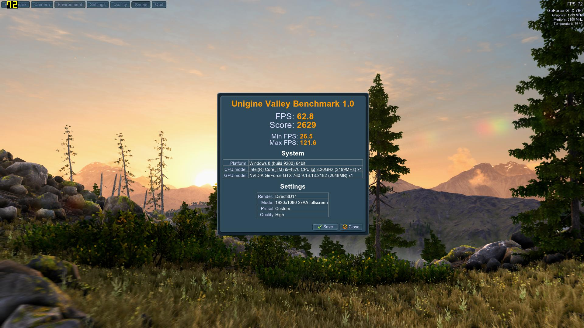 Speed Game Pro I GTX 760 Valley High2AA
