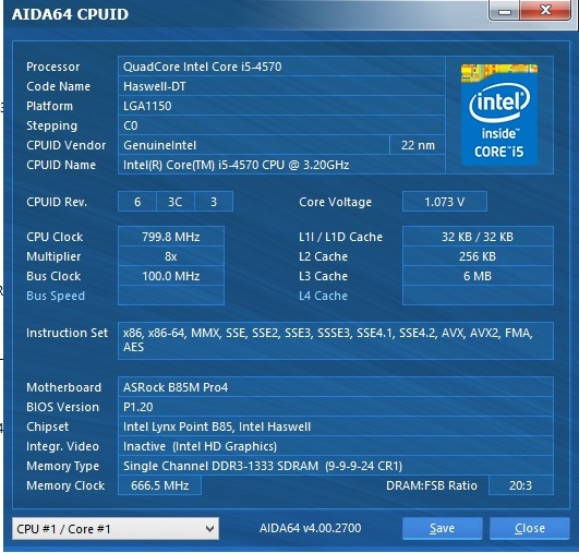 Speed Game Pro I HD7870 aida cpuid