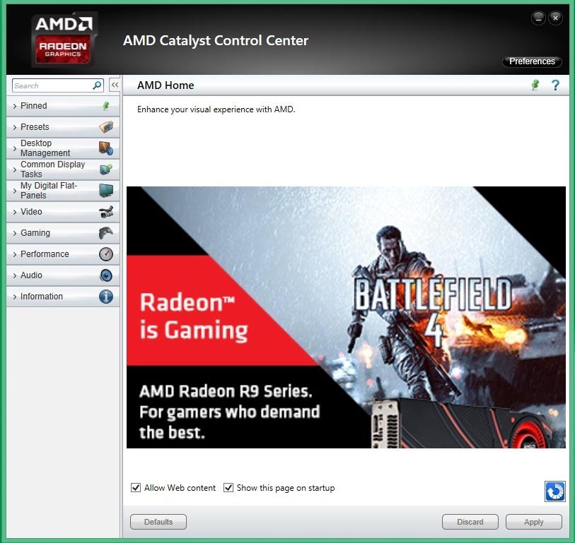 Speed Game Pro I HD7870 amd catalyst