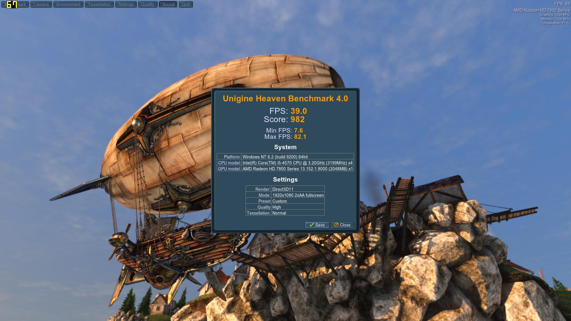 Speed Game Pro I HD7870 Heaven HighNormal2AA
