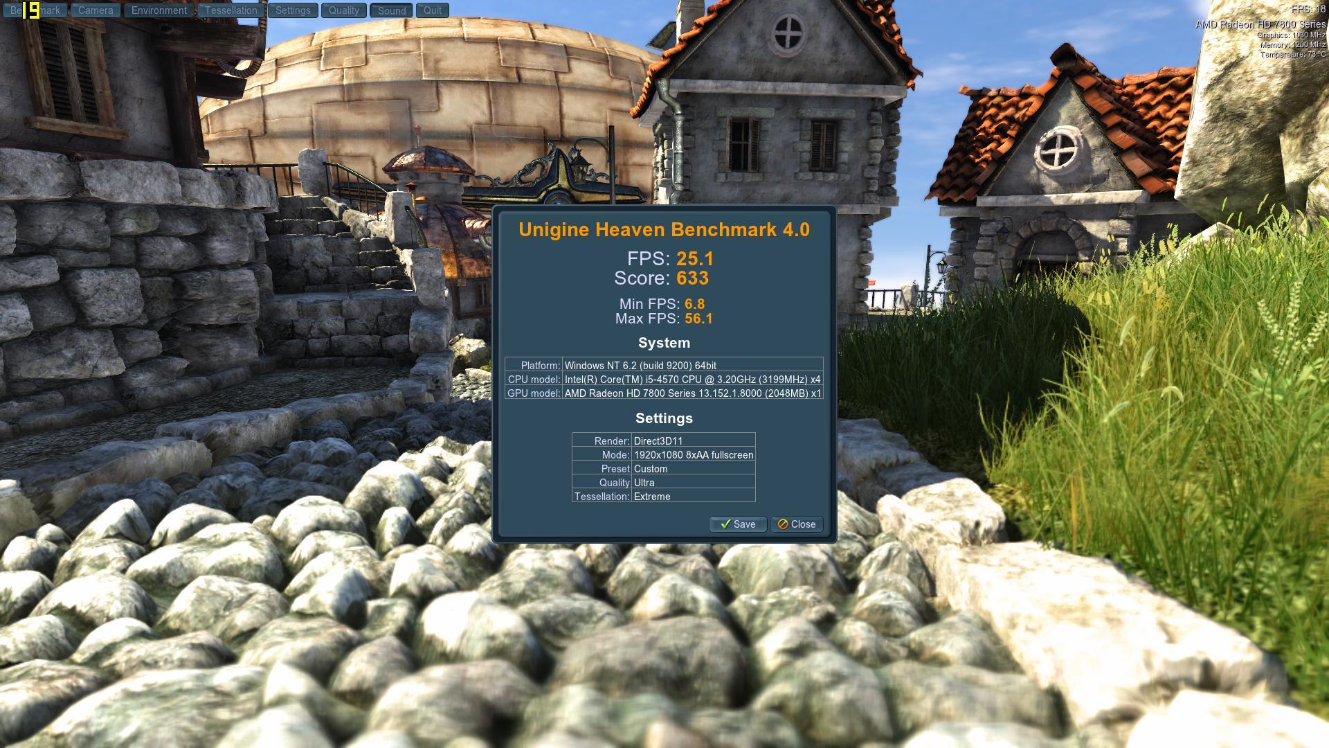 Speed Game Pro I HD7870 Heaven UltraExtreme8AA