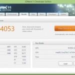 Acer Aspire VN7-791 3dmark11 720p performance