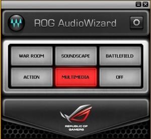 Asus G551JK rog audio