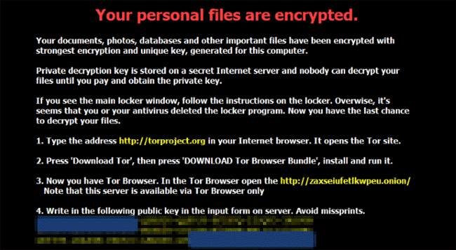 CTB LOCKER - instruction to download tor