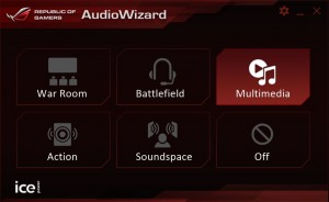 Asus GL552JX audio manager