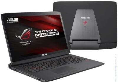 Геймърски лаптоп ASUS G751JY-T7203D i7-4720HQ GTX980 с подарък оригинална ASUS ROG раница и ергономична мишка