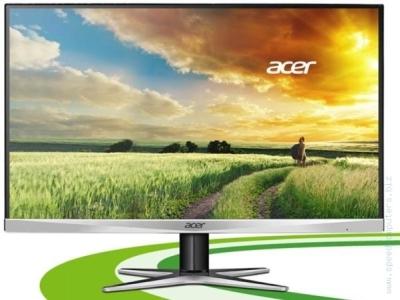 """Геймърски монитор Acer G277HUsmidp 27"""" Wide TN LED WQHD"""