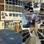 Магазинът на Спийд Компютри във Варна - мострена зала, геймърски лаптопи, компютри, клавиатури, мишки, слушалки - всичко за перфектния гейминг на едно място.