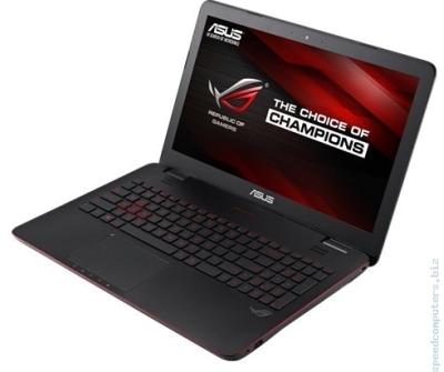 Мощен геймърски лаптоп ASUS G551JM-CN127D ROG i5-4200H GTX 860M 4GB на супер цена с подаръци от Спийд Компютри