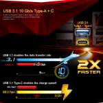 Speed GTX SkyLake USB A and C agenda