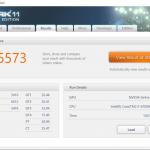 Asus GL552VW 3dmark 11 720p