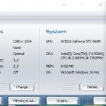 Asus GL552VW 3dmark06 1024p