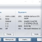 Asus GL552VW 3dmark06 1080p