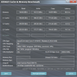 Asus GL552VW1 cache and memory test
