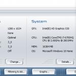 Acer Predator G9 791 3dmark06 1024p