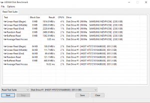 Acer Predator G9 791 hdd ssd test