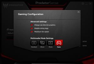 Acer Predator G9 791 predator sense