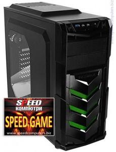 Геймърски компютър SPEED GAME INTEL I5 6500 GTX 970 R3.0 на ПРОМО цена + 5 ПОДАРЪКА!