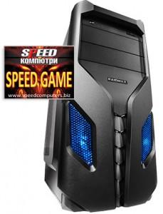 Геймърски компютър SPEED GAME II GTX Ed 8-CORE R3.0 на ПРОМО цена + 5 ПОДАРЪКА!