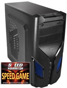 Геймърски компютър SPEED GAME II GTX Ed 8-CORE R3.0