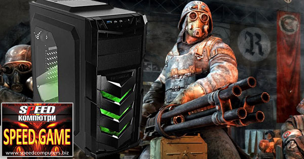 Най-продаваният геймърски компютър SPEED GAME INTEL I5 6500 GTX 970 R3.0 в Спийд Компютри.